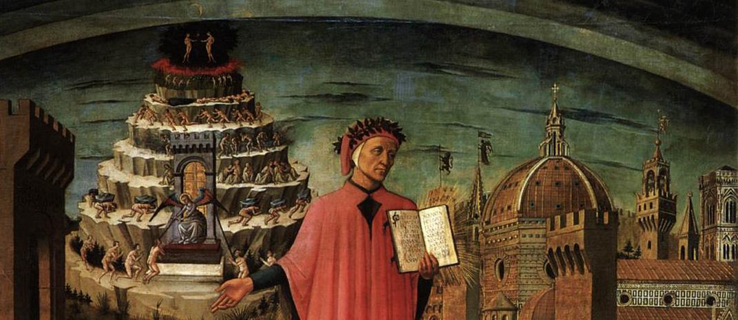 Domenico di Michelino, La Divina Commedia di Dante (Dante and the Divine Comedy)
