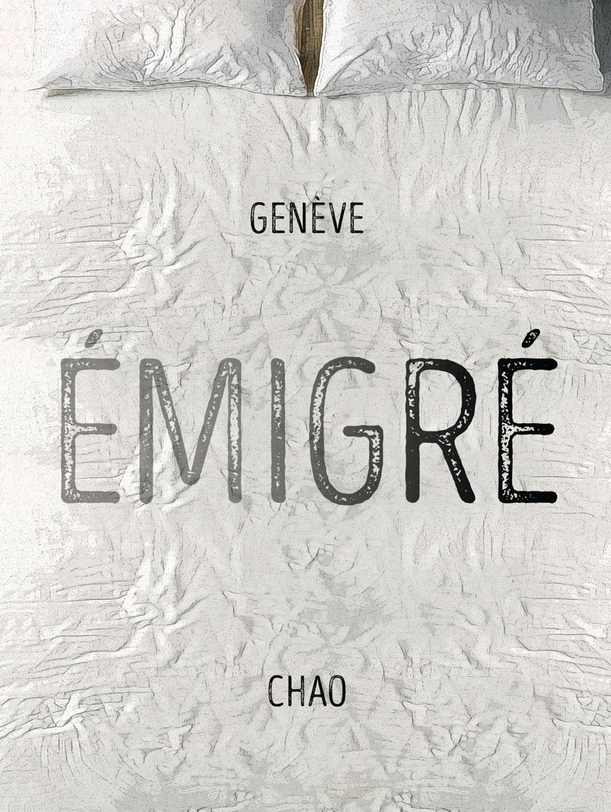 Book cover for émigré by Genève Chao