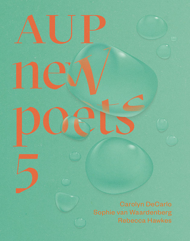 Book cover for AUP New Poets 5