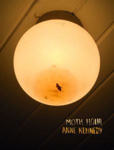 Book cover for Moth Hour by Anne Kennedy